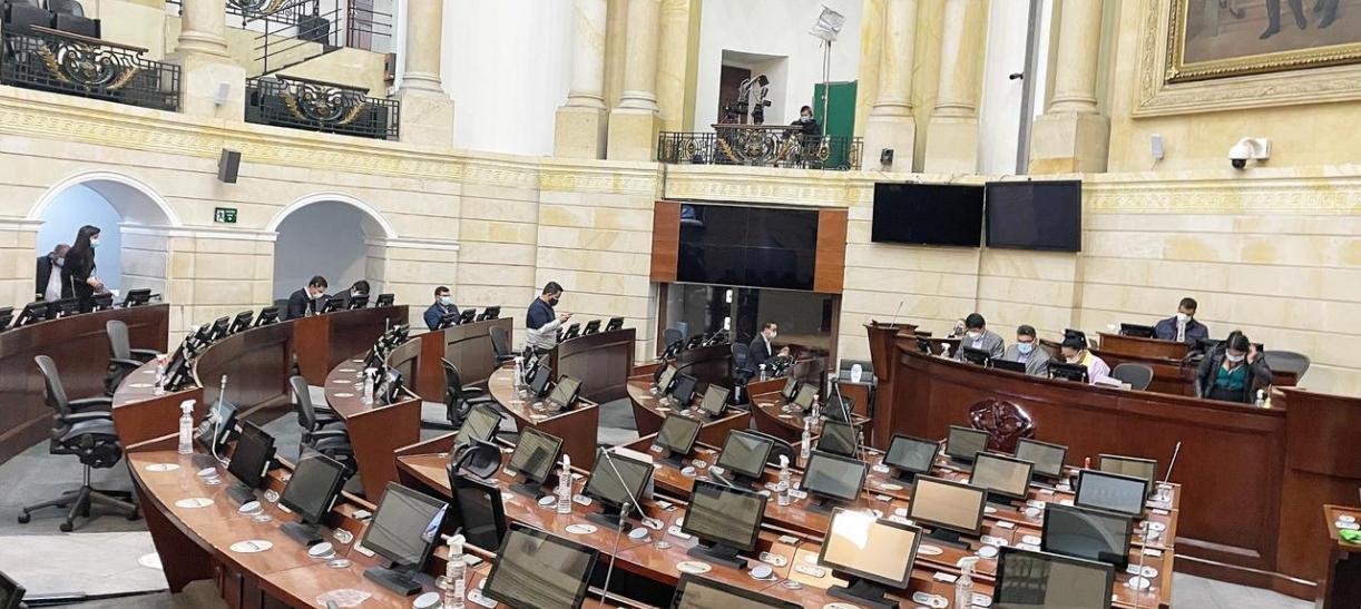 Congreso sesiones proyectos de ley