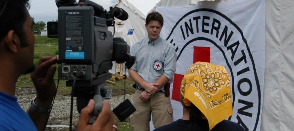 trabajo en el Comité Internacional de la Cruz Roja