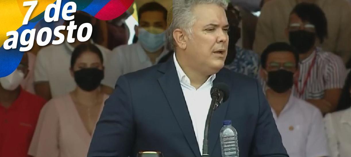discurso presidente Iván Duque en Tolemaida