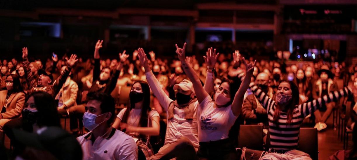 regreso entretenimiento y eventos masivos bogota