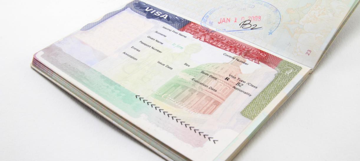 Visa de turismo a EE. UU.
