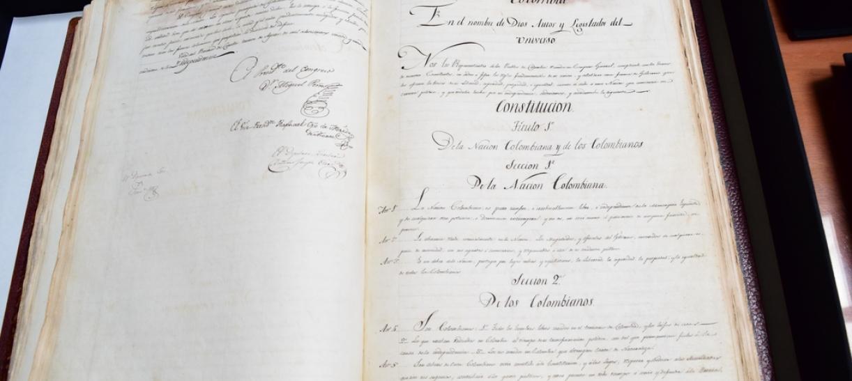 Bicentenario de 1821: la constitución que creó la Gran Colombia