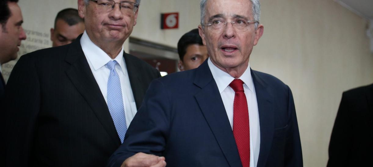 Álvaro Uribe detención domiciliaria