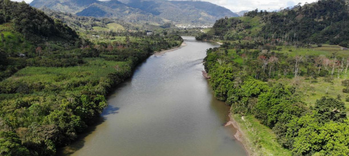 Imagen del río Amazonas