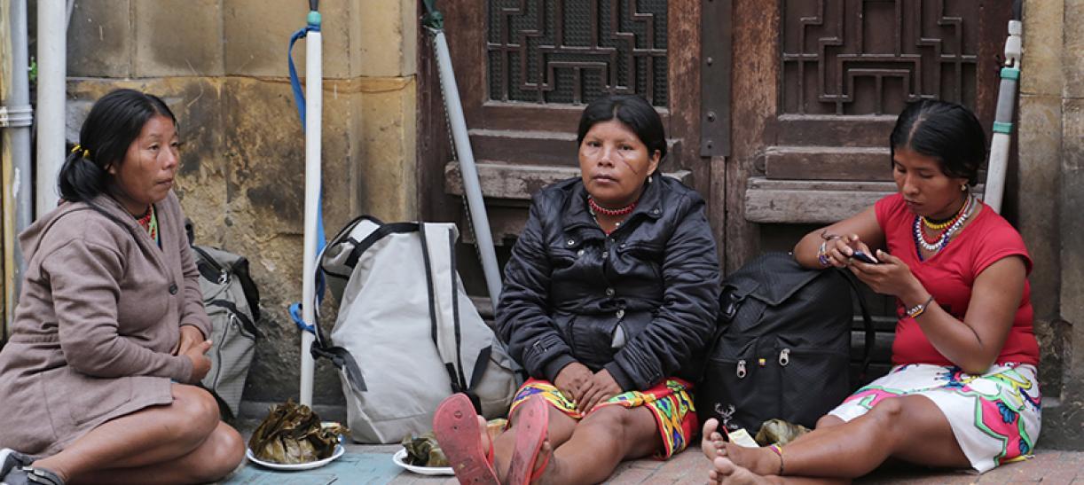 Indígenas Embera