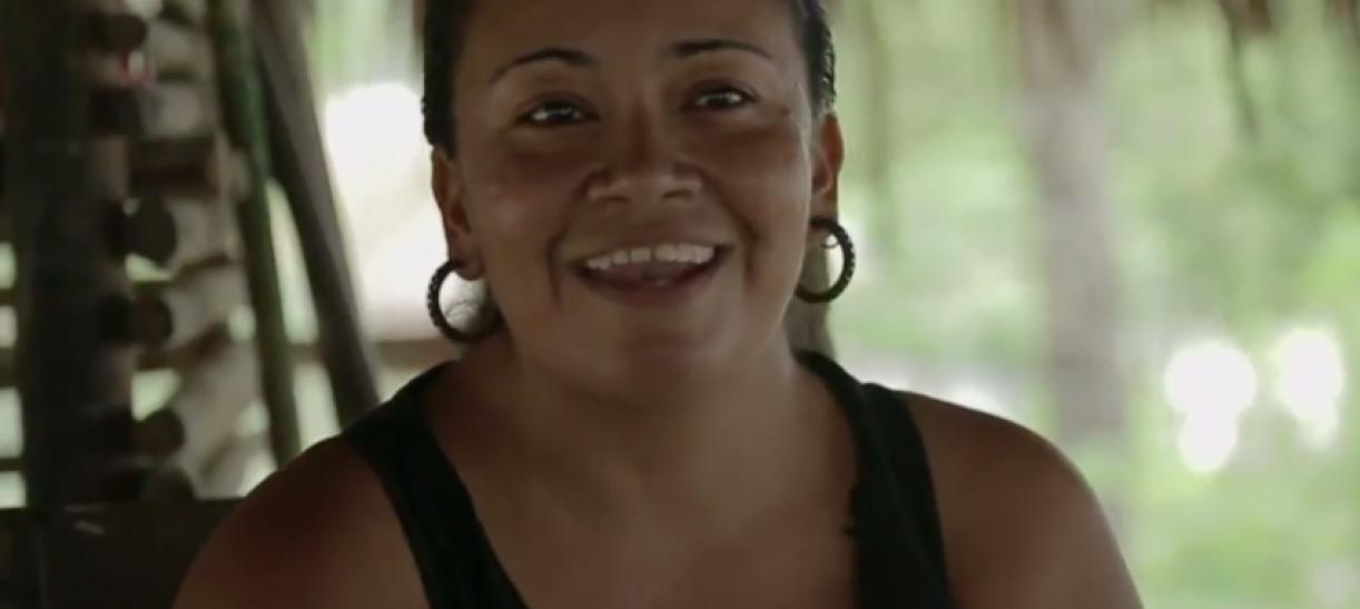 Yirley Velasco, víctima de abuso sexual y líder de 'Mujer y Vida'.