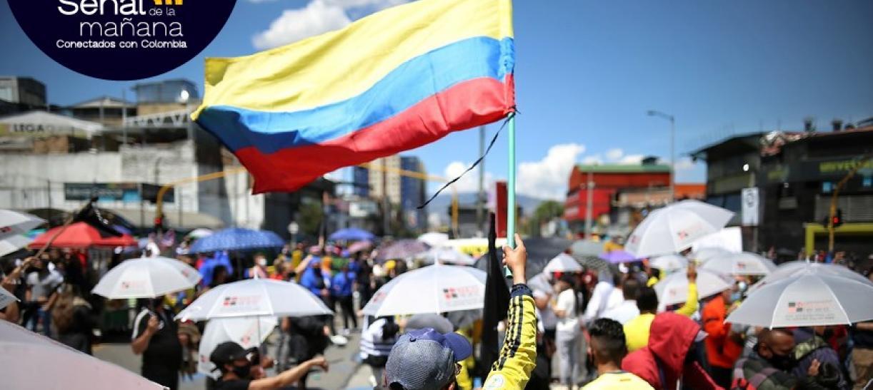 Movilizaciones del paro nacional en Colombia
