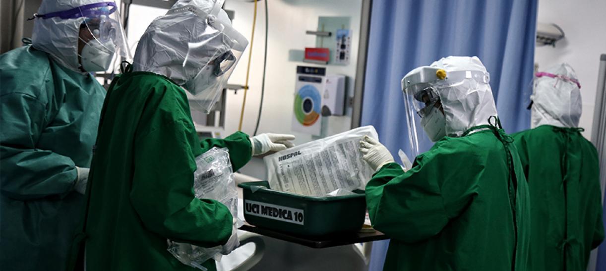 Pico de la pandemia