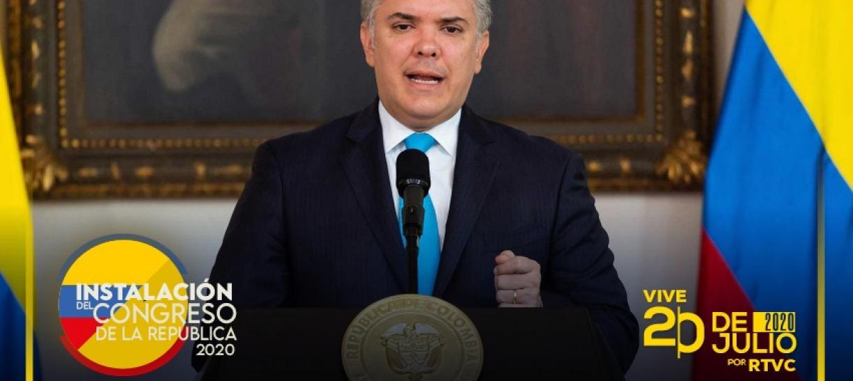 presidente Duque Congreso