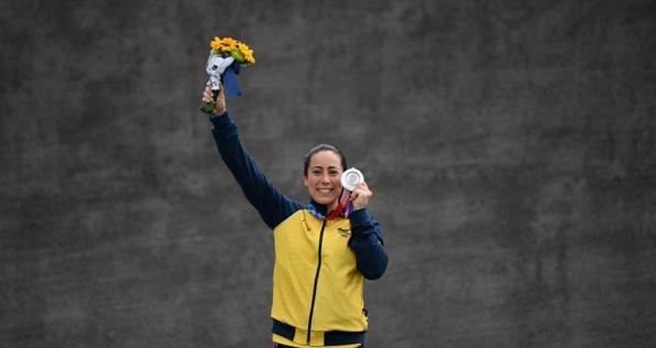 La lucha de Mariana por volver a colgarse una medalla en los Olímpicos