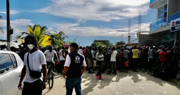 En Necoclí piden a las autoridades presencia en el territorio