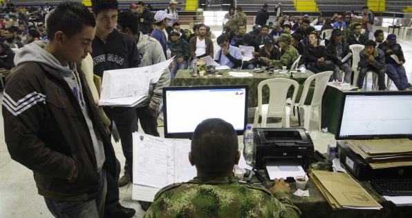 Así puedes sacar tu libreta militar en las jornadas de amnistía para remisos