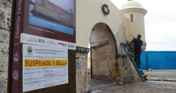 La razón por la que las murallas de Cartagena no se podían intervenir