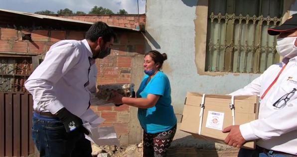 Ayudar nos hace bien: 1 millón de mercados para los más necesitados