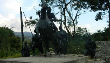 Imagen del Simón Bolívar de Charala