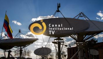 Imagen de las fachada de RTVC