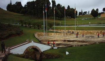 Foto del puente de Boyacá