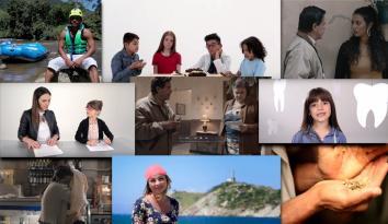 Varias imagenes de los programas nominados a los Premios TAL