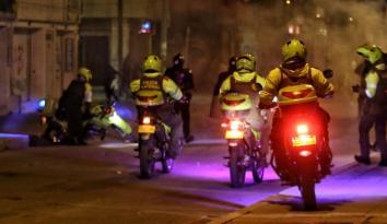 policías protestas