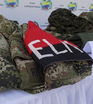 Este era alias 'Uriel', comandante del ELN abatido en Chocó