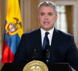 Presidente Duque declara tres días de duelo nacional tras muerte de ministro