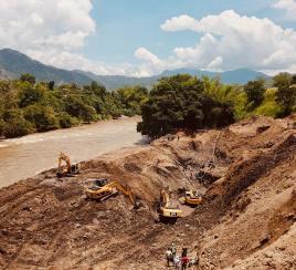 Tras 24 días, finalizó el rescate de los mineros en Caldas