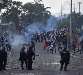 Denuncian muertes a mano de las autoridades en el Paro Nacional