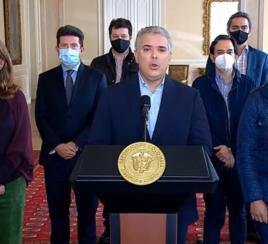 Presidente Duque pide al Congreso el retiro de la Reforma Tributaria
