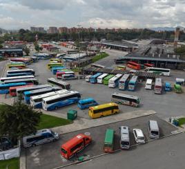 Así operarán las terminales de Bogotá este puente