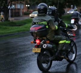 360 soldados del Ejército ya empezaron a patrullar las calles de Bogotá