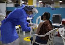 Cifra récord: Colombia aplicó más de medio millón de dosis