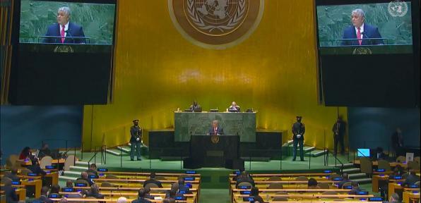"""""""Brechas en proceso de vacunación son inauditas"""": presidente Duque ante la ONU"""