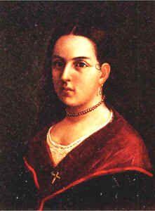 Retrato realizado por José María Espinoza