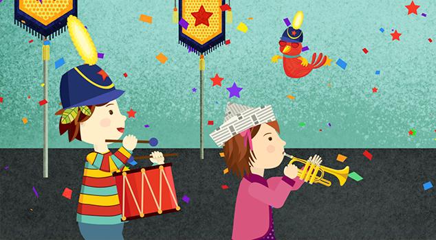 Series musicales para niños: Pipo mi amigo imaginario