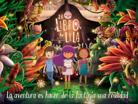 Afiche El libro de Lila