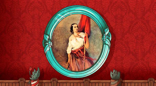 Mujeres que hicieron historia - Anita Garibaldi