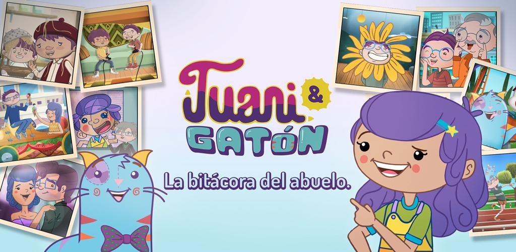 """Hacer un álbum de fotos:  Juani & Gatón presentan la app """"La bitácora del abuelo"""""""