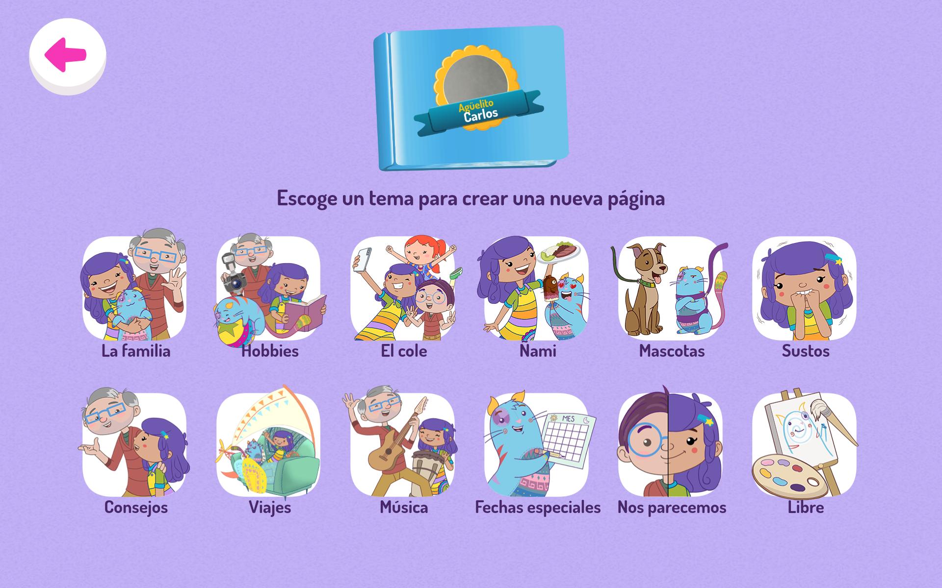 Hacer álbum de fotos: Así es la app de Juani & Gatón
