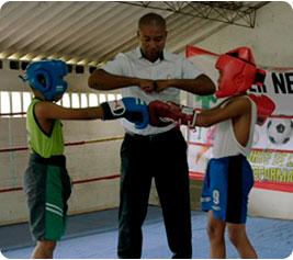 Boxeo - imágenes de deportes para niños