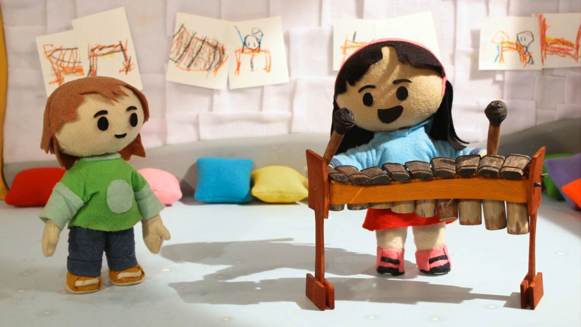 Sol y Remi con una marimba - Guía pedagógica