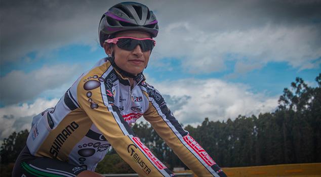 Ciclistas colombianas Laura Lozano