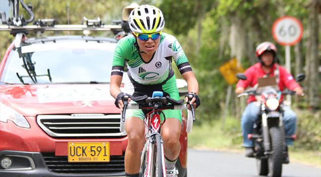 Ciclistas colombianas Liliana Moreno