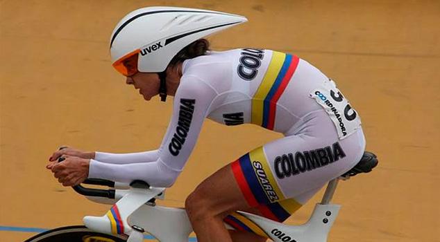 Ciclistas colombianas María Luisa Calle