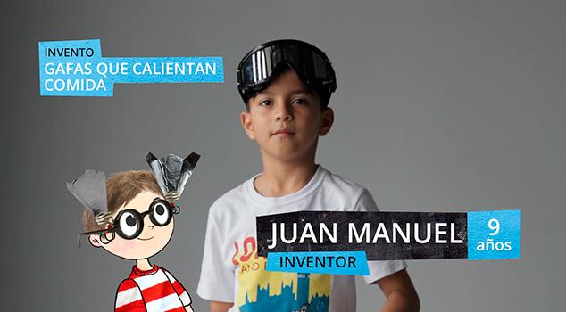 Ciencia para niños: invento de Juan Manuel