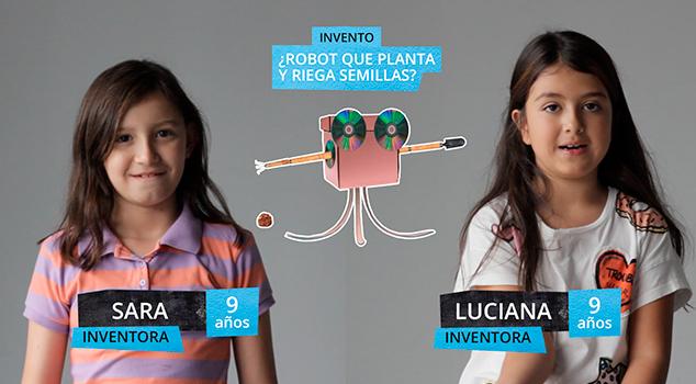 Invento creado por niñas