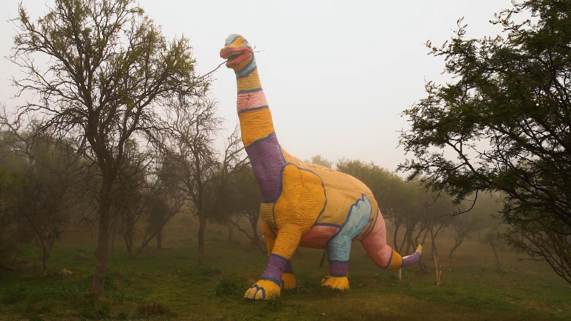 Dinosaurios - Foto del Parque Nacional Sierra de las Quijadas, en Chile - Dino Exploradores