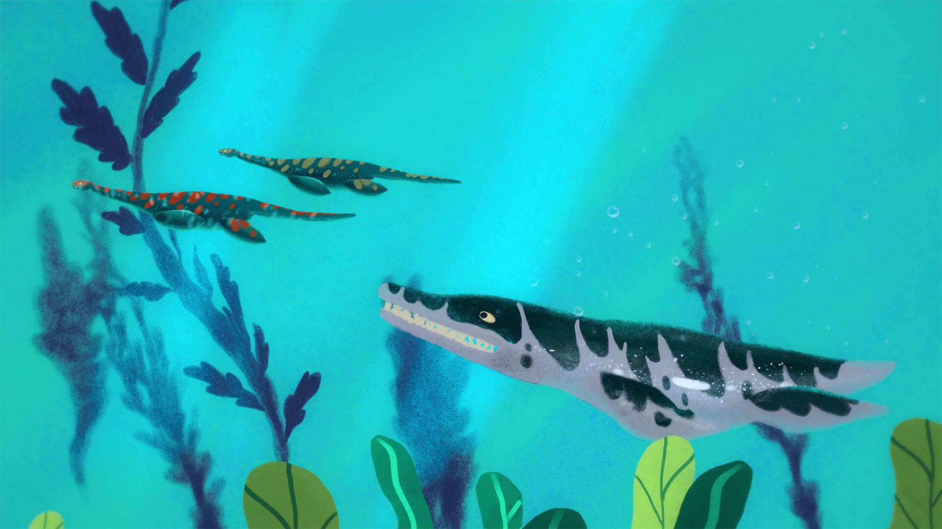 Dinosaurios - Pliosaurio - DinoExploradores