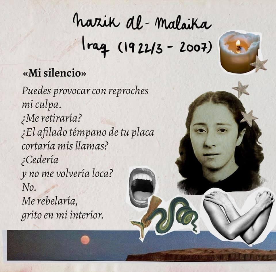 Poetas jóvenes - Nazik Al Malaika