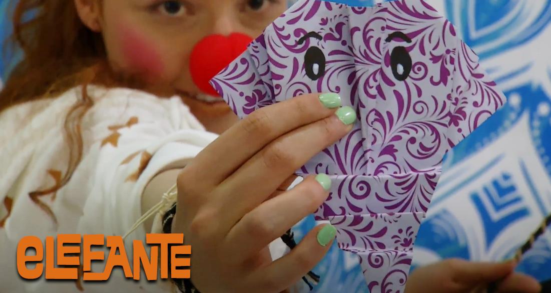 Cómo hacer un elefante en origami - Mi Señal, Territorio Mágico