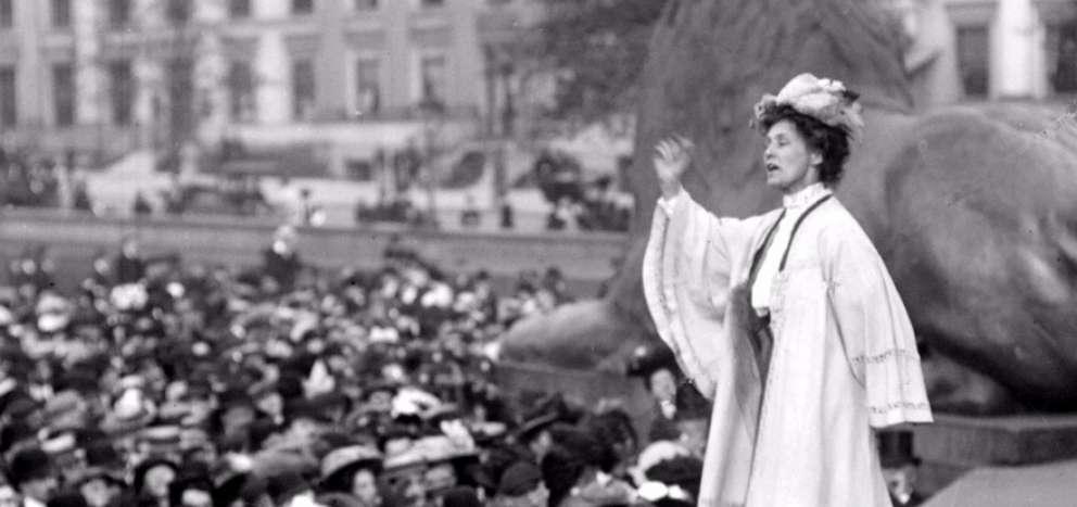 Mujeres famosas de la historia - Emmeline Pankhurst Goulden